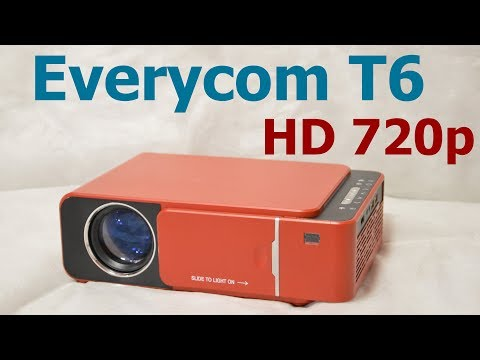 Everycom T6 HD 720p (цена/качество)