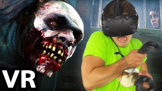 SCARY VIRTUAL REALITY HORROR! (HTC Vive)