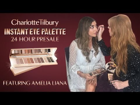 24 HOUR Instant Eye Palette Presale!! feat. Amelia Liana | Charlotte Tilbury