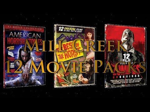 Mill Creek 12 Horror Movie Packs - Part 1