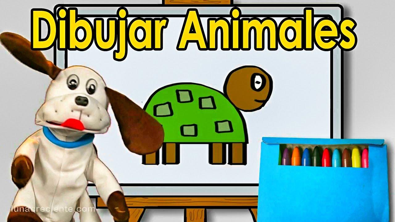 Dibujando Animales Con Formas Geométricas Videos Educativos Para
