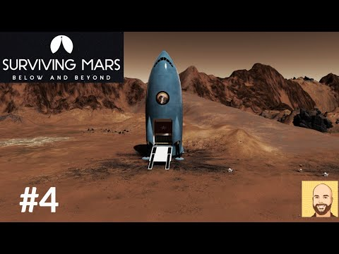 Below and Beyond (Full Release) - Hardest Map - Surviving Mars - Ep 4 |