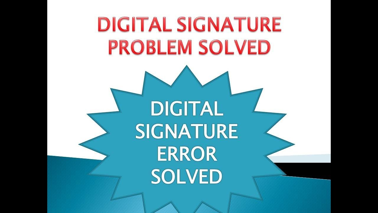HOW TO FILE GST RETURN WITH DSC - PERMANENT SOLUTION TO DIGITAL SIGNATURE  PROBLEM
