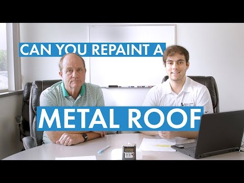 Can You Repaint a Metal Roof?