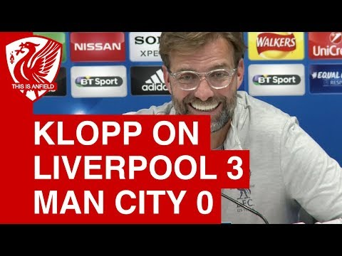 Jurgen Klopp Post Match Press Conference | Liverpool 3-0 Man City