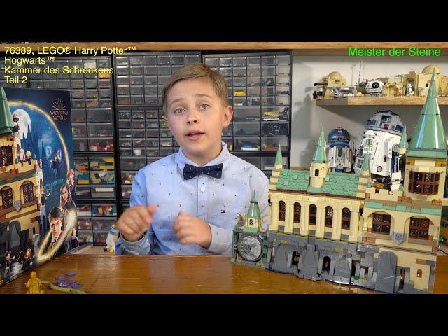 Lego 76389, Harry Potter, Hogwarts™ Kammer des Schreckens, Teil 2, Meister der Steine