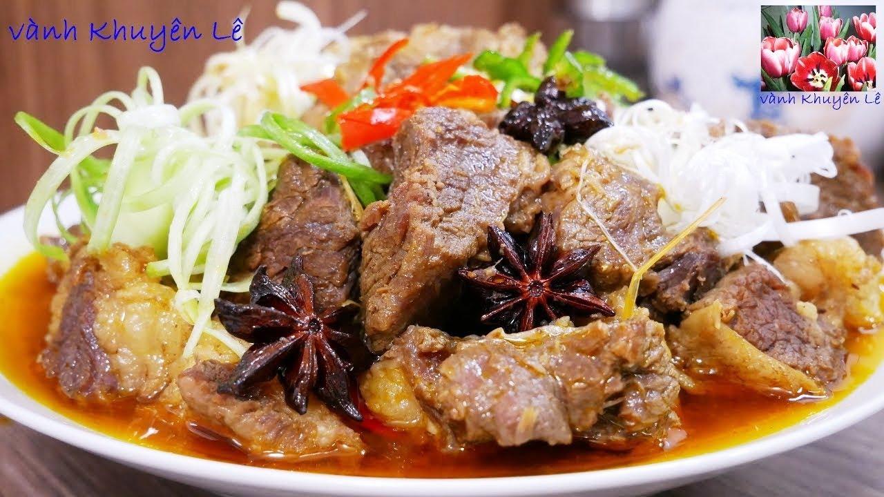 THỊT BÒ KHO – Món ăn ngon ngày TẾT – Thịt Bò Kho thơm ngon đậm đà by Vanh Khuyen