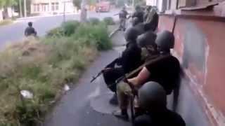 Начало войны на Донбассе (клип)