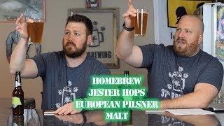 Easy recipe for making beer at home  SMaSH All Grain Jester and European Pilsner Malt