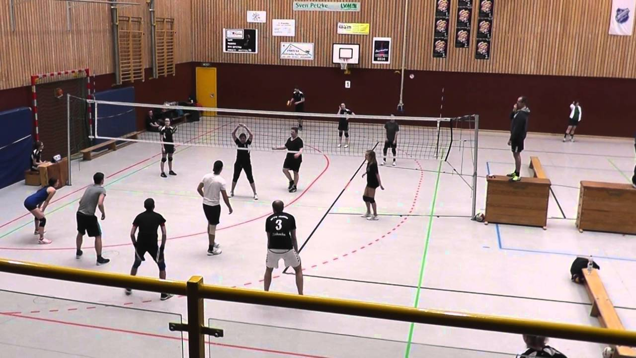 Mixed Volleyball Turnier Krempe 1.Spiel