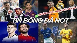 Tin bóng đá 17/03|Đội bóng Beckham muốn mua Ronaldo & Messi, Zidane về Real, MU lại dễ mất De Gea