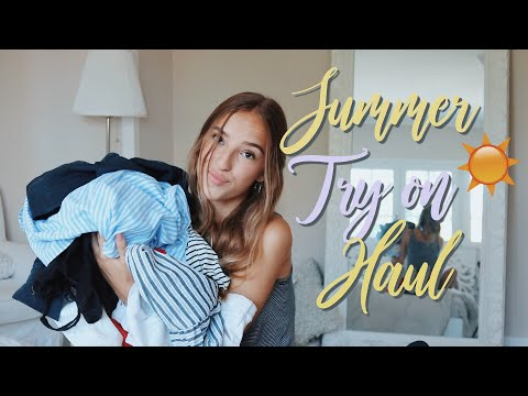 Summer Try on Haul 2018//Hannah