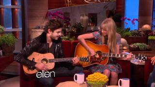 Taylor Swift and Zac Efron Sing a Duet! - The Ellen DeGenere...