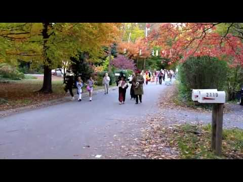 Arden Village Halloween Parade, clip two