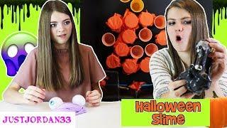 Halloween Punch Cup Slime /JustJordan33