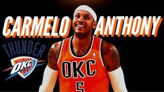 """Carmelo Anthony - """"The Way Life Goes"""" (Emotional) Thunder Promo"""