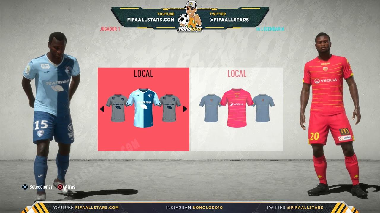 Fifa 20 Ratings Kits Domino S Ligue 2 Youtube