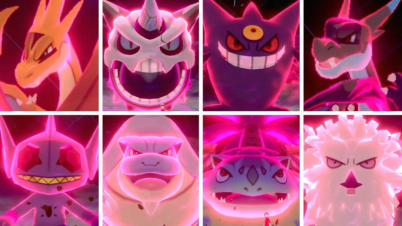 Download All Mega Evolutions in Pokémon Sword & Shield