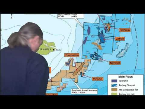 Falklands and oil