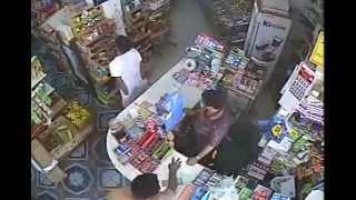 Store Robbery in Jeddah, Saudi Arabia