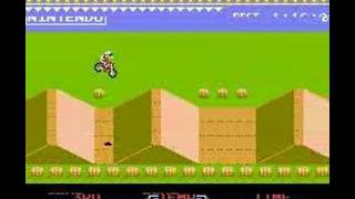 excite bike (NES) time attack