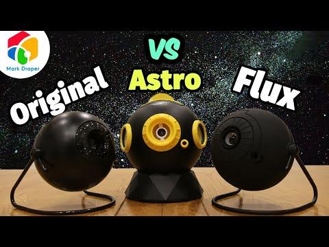 Planetarium showdown: National Geographic Astro vs Sega Homestar Original vs Sega Homestar Flux