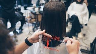 how to cut lob (long bob), most popular women's haircut