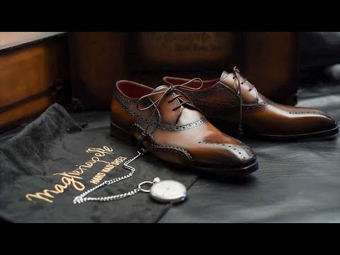 Handcrafting Premium Men's Shoes - Maglieriapelle