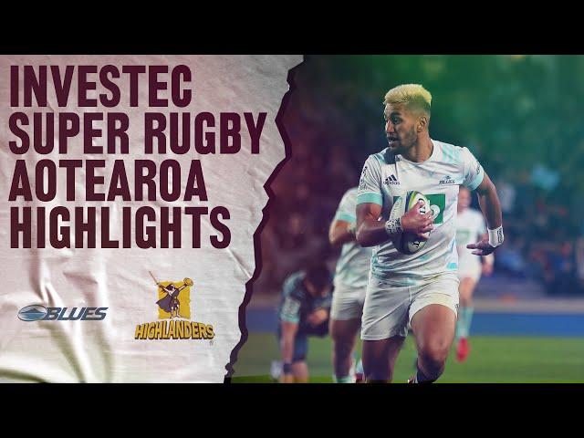 ROUND 3: Blues v Highlanders (Investec Super Rugby Aotearoa) - All Blacks