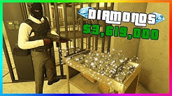 GTA 5 Online Casino Heist - RARE Diamond Vault Loot $3,619,000 MAX Payout On HARD! (Silent & Sneaky)
