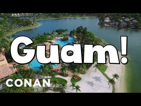 A Message From The Guam Tourist Board  - CONAN on TBS