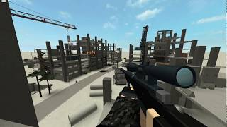 ROBLOX Phantom Forces (Session 3) - Testing out the Dragunov SVU