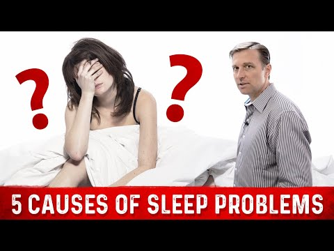 The 5 Causes of Sleep Problems