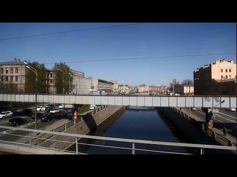 Прибытие на станцию Санкт-Петербург-Витебский