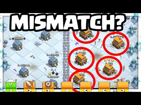 MISMATCHES? Clash of Clans Clan War Leagues - Why EVERY Star MATTERS!