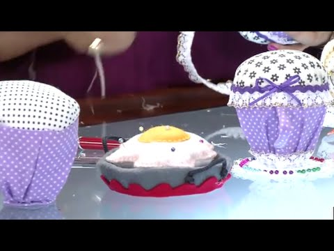 Como hacer Alfileteros con Material Reciclable - porta Alfileres -Hogar Tv  por Juan Gonzalo Angel