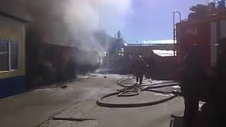 Пожежа в Радянському районі Астрахані - прес-служба ГУ МНС по Астраханській області