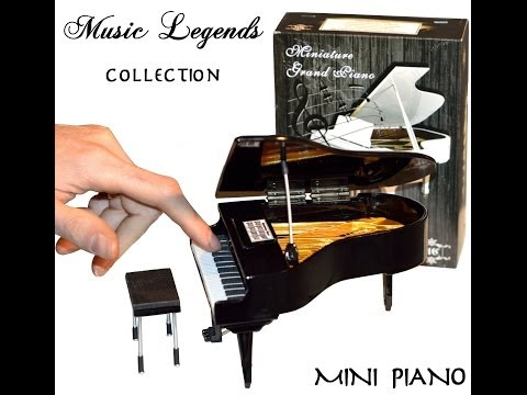 Music Legends Collection Miniature Piano