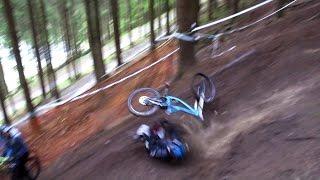 Downhill Crash Compilation    iXS Dirt Masters Winterberg 2016