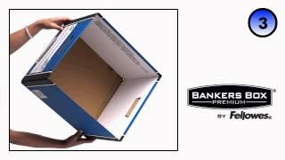 Bankers Box Premium PRESTO™ Classic Box - Assembly Video