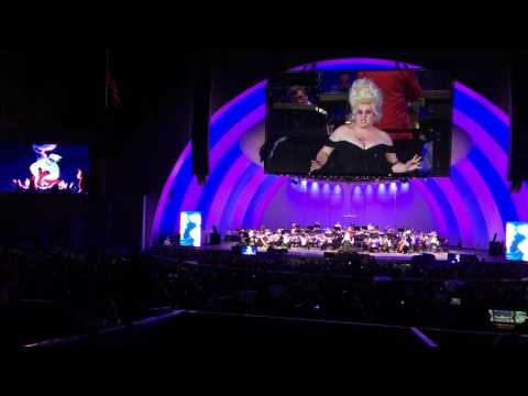 Rebel Wilson as Ursula - The Little Mermaid - Hollywood Bowl