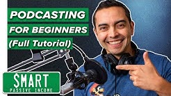 How to Start a Podcast (2019 Tutorial)  Equipment & Software