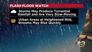 Philadelphia Weather: Flash Flood Watch
