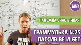 Граммулька №25 - ПАССИВНЫЙ ЗАЛОГ be и get. Матрица PASSIVE VOICE