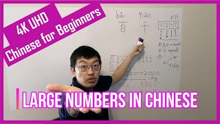 How to Count Large Numbers in Chinese? | Hundred and Thousand | 百 (bǎi) and 千(qiān) | 4K UHD