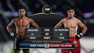 Eduard Folayang vs. Amir Khan | Full Fight Replay