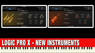 Logic Pro X 10.4 News - Studio Strings and Studio Horns