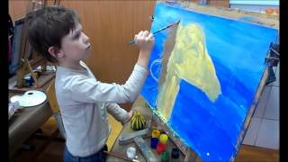 Урок рисования для детей от 5 лет. Рисуем лошадку.