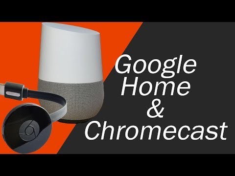 hook up google home to chromecast