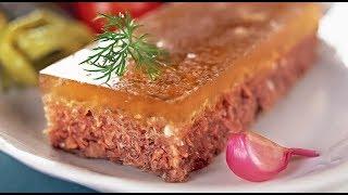 Как сварить вкусный холодец чисто из говядины beef jelly